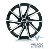 15X6.0 112.00X5 ALUTEC SINGA diamond-black front polished