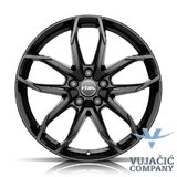 17X7.5 112.00X5 RIAL LUCCA diamond-black