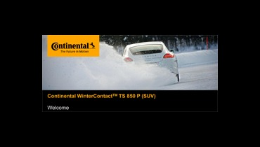 Continental prvi na ADAC testu zimskih guma 2014!