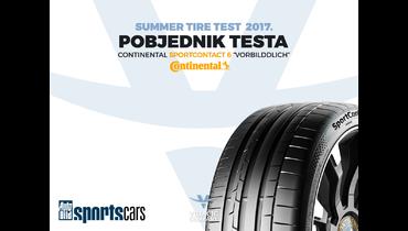 Test ljetnjih guma za 2017. godinu