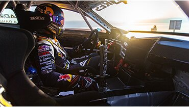 Dead Sea launch for Lexus RC F Carbon Kevlar drift car