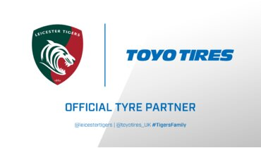 Toyo Tires to join Leicester Tigers as Official Tyre Partner