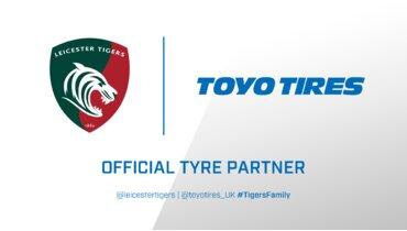 Toyo Tyres će sarađivati sa  Leicester Tigers kao službeni partner